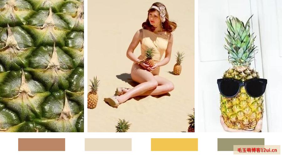 自然又舒适的夏日色彩