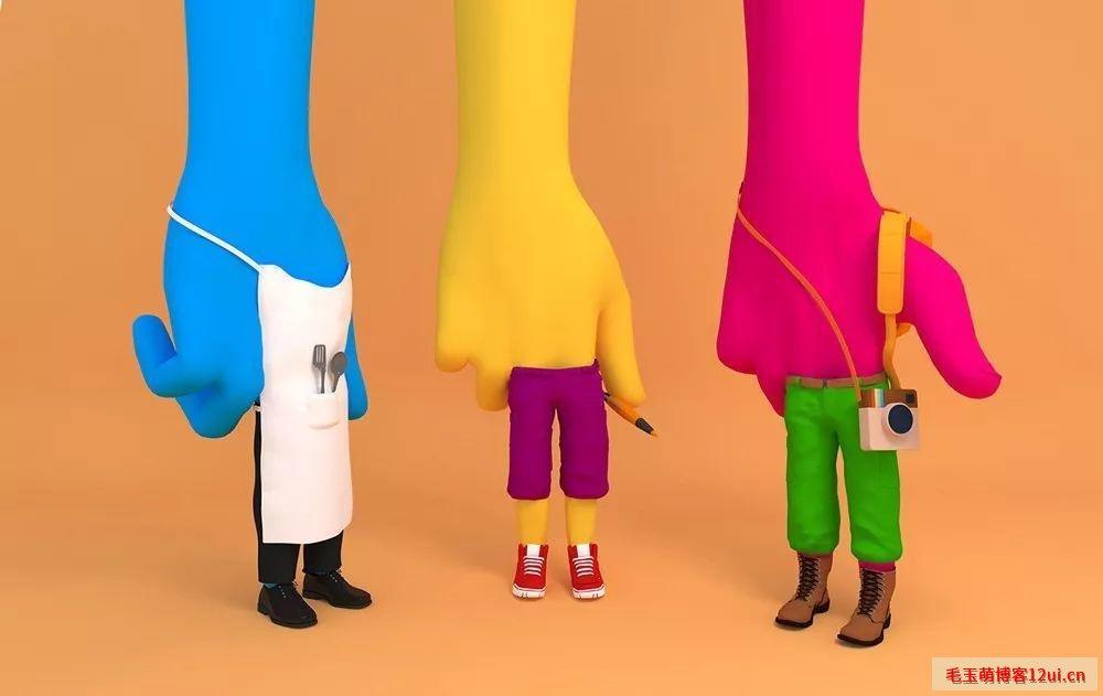 别把设计只当成是排版、配色