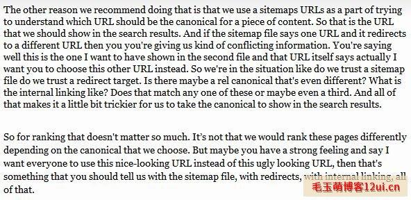 谷歌关于canonical标签的最新意见