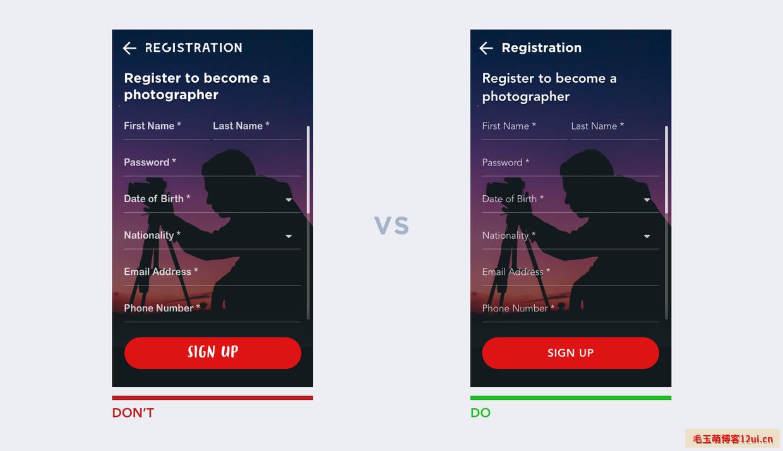 UI设计的10条经验法则